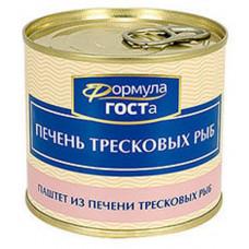 "Печень тресковых рыб ""Формула ГОСТа"" 220 гр."