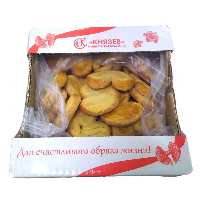 "Ушки сахарные хрустящие ""Князев"" 900 гр."