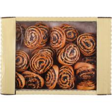 Сдоба Контек Нежность с маково-ореховой начинкой, 0,4 кг