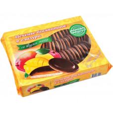"""Печенье бисквитное в глазури со вкусом манго """"Кико""""  1,2 кг"""