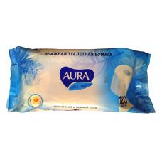 Влажная туалетная бумага Aura Ultra Comfort с ромашкой 120 шт