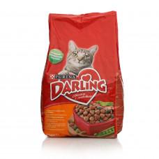 Сухой корм Darling для кошек (2 кг, Птица/Овощи)